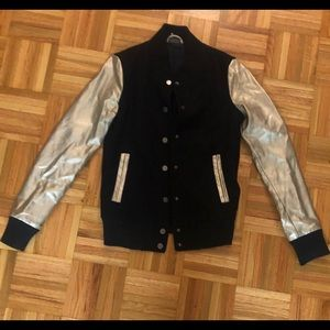 Black & Gold Jacket from Sparkle & Fade